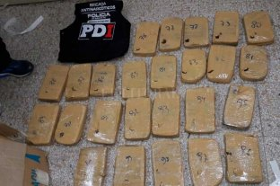 150 kilos de marihuana incautados en barrio Siete Jefes -