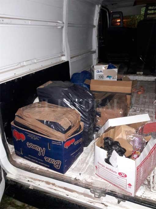 Secuestraron 150 kilos de marihuana en barrio Siete Jefes