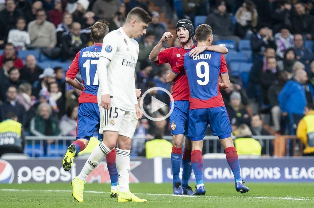 Real Madrid fue goleado por el CSKA Moscú previo al Mundial de Clubes