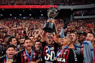 Atlético Paranaense le ganó a Junior y se consagró campeón de la Copa Sudamericana