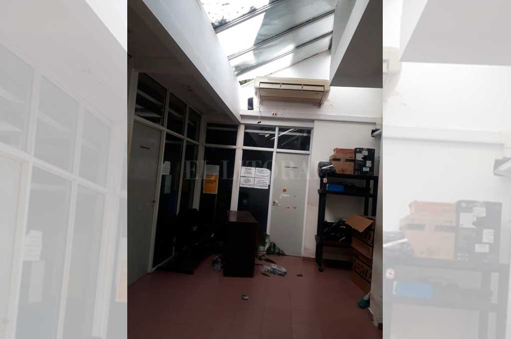 Por los techos: robaron en el Centro de Educación Vial de Santa Fe