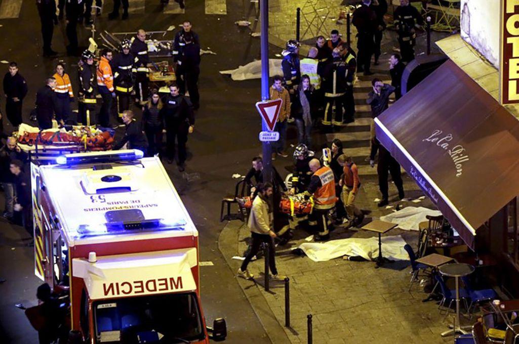 El atentado dejo al menos tres muertos y trece heridos Crédito: Internet
