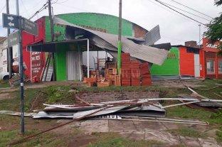 Paraná también sufrió por la tormenta -  -
