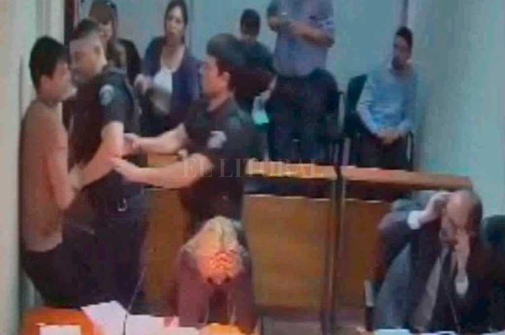 Agresión al fiscal de Rafaela: preocupación por la seguridad de las salas de audiencias