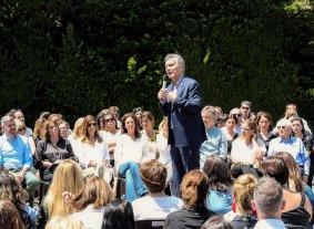 Macri presentó el Plan de Igualdad de Oportunidades y Derechos -  -