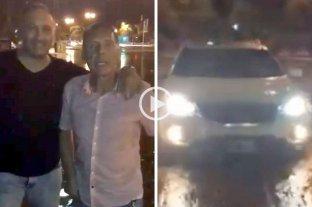 """Video: A Miguel Ángel Russo """"lo tapó el agua"""" y se la agarró con la intendenta de Rosario -"""