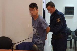 Falleció la anciana golpeada y pedirían perpetua para su agresor - Isaías Gómez, de 22 años, durante la audiencia imputativa relizada este viernes. -