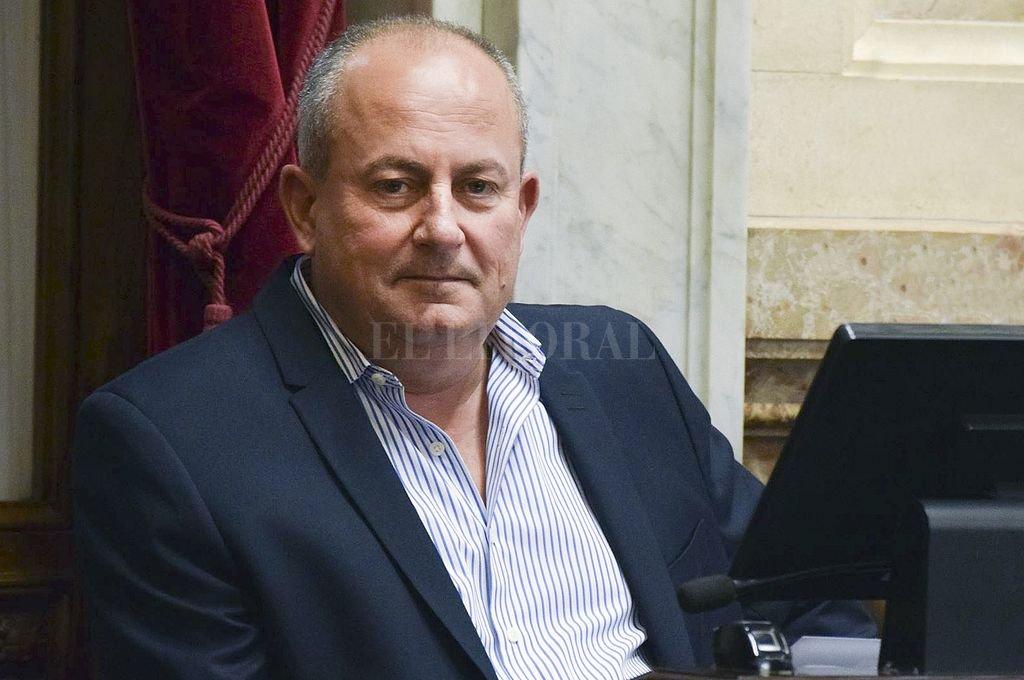 Juan Carlos Marino, senador de la UCR por La Pampa. Crédito: NA