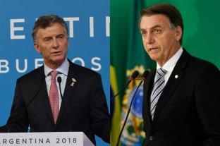 Macri y Bolsonaro se reunirán el 16 de enero en Brasilia -  -