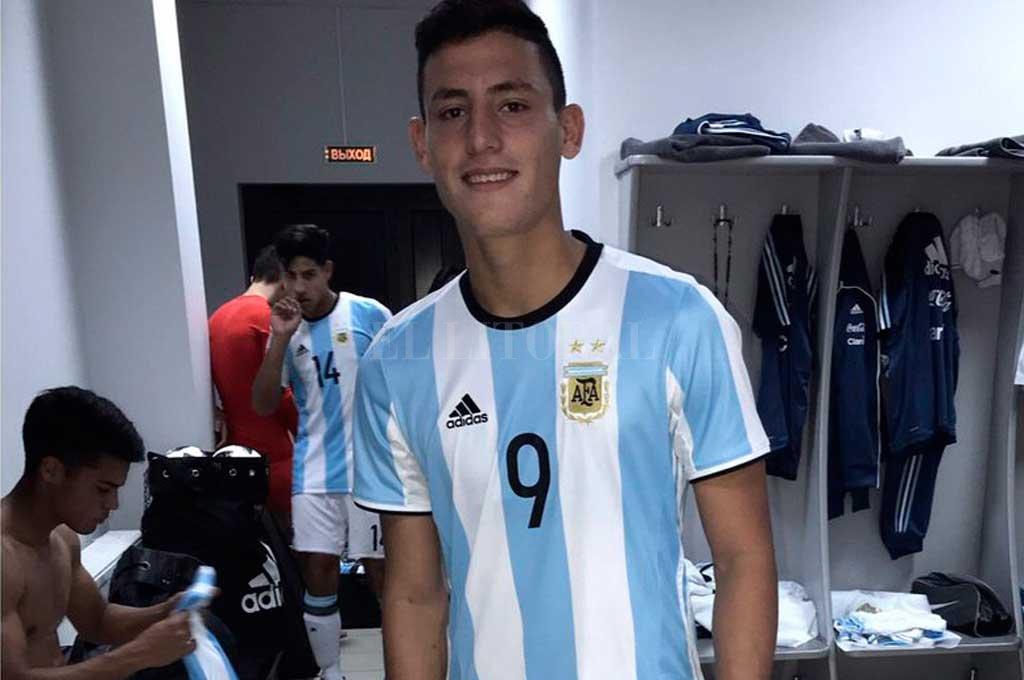 El juvenil de Colón ya conoce lo que es estar en la Selección <strong>Foto:</strong> Archivo El Litoral