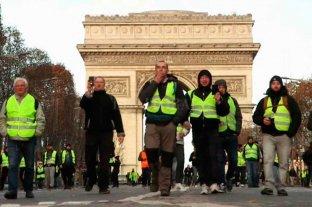 Quinto sábado consecutivo de protestas encabezas por chalecos amarillos en Francia