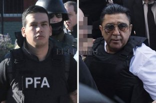 """El jefe de Los Monos acusó desde la cárcel de """"narco y lavador"""" a Luis Paz - Ramón Machuca y Luis Paz. -"""