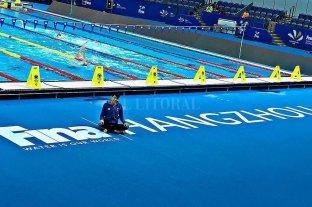 Julia Sebastián volvió a competir en China
