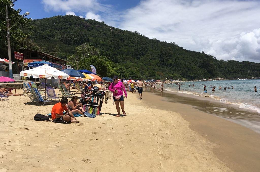 Las playas de Brasil, sobre todo las del sur, siguen siendo el principal destino internacional de los santafesinos. Crédito: Archivo El Litoral