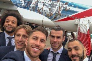 El Real Madrid viajó al Mundial de Clubes