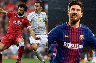 Horarios y TV: Fútbol internacional para este domingo -  -