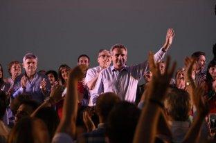 """Rossi precandidato a presidente  - """"Camino a 2019. Con Cristina Siempre"""", fue la consigna del encuentro. -"""