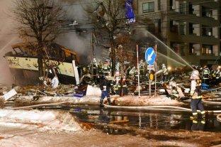 Al menos 42 heridos por un explosión en un restaurante de Japón