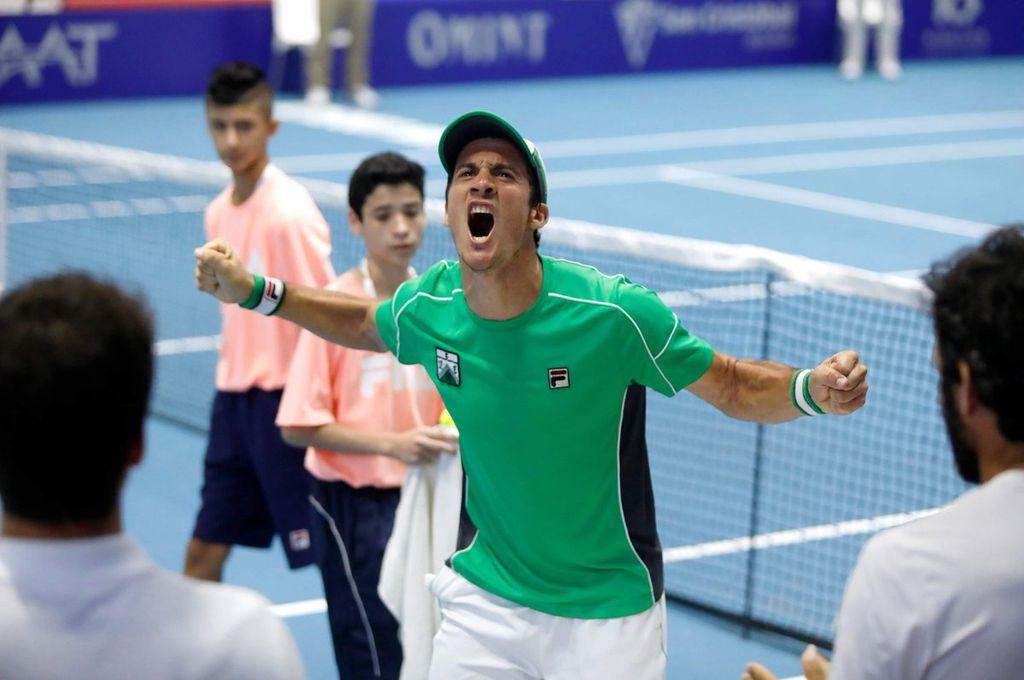 Ferro, con el santafesino Bagnis, se consagró campeón del interclubes de tenis