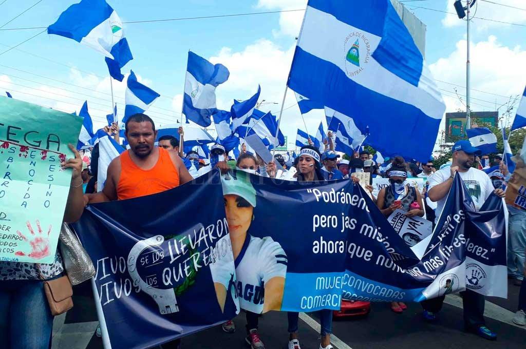 La oposición nicaragüense llamó a un paro contra el gobierno local