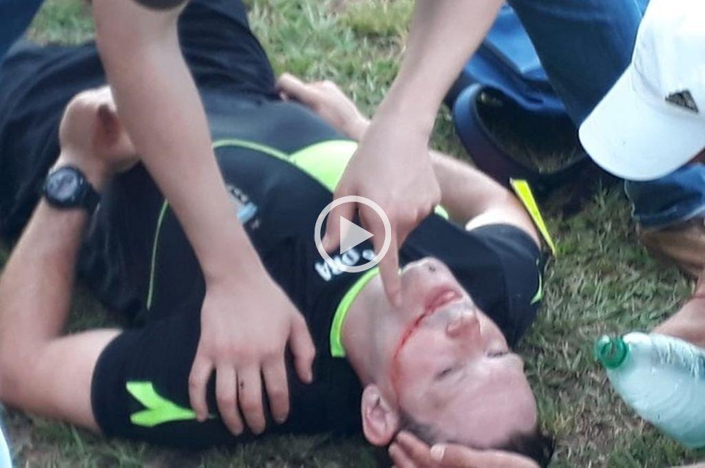 Brutal agresión a un árbitro de la Liga Posadeña