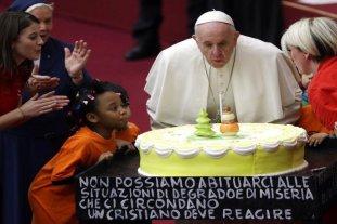 Macri saluda al Papa Francisco en su cumpleaños número 82