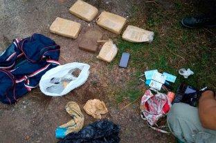 Persecución, detención e secuestro de droga en Santa Fe -