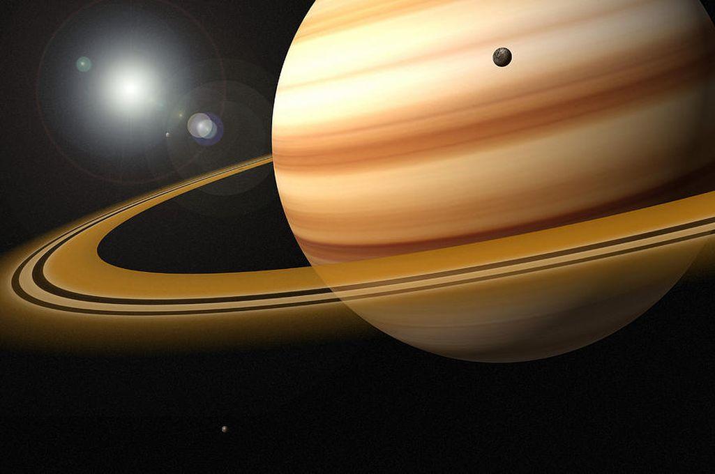 Los anillos de Saturno se componen de partículas de hielo y agua <strong>Foto:</strong> Internet
