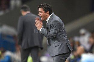 """Gallardo: """"Esta derrota no mancha lo conseguido contra Boca"""" -  -"""