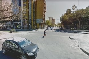 Desde este miércoles cambia el sentido de circulación en un tramo de calle Güemes - Intersección de Bulevar Gálvez y calle Güemes. -
