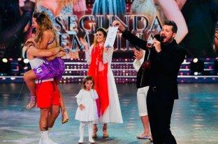 Jimena Barón es la segunda finalista del Bailando