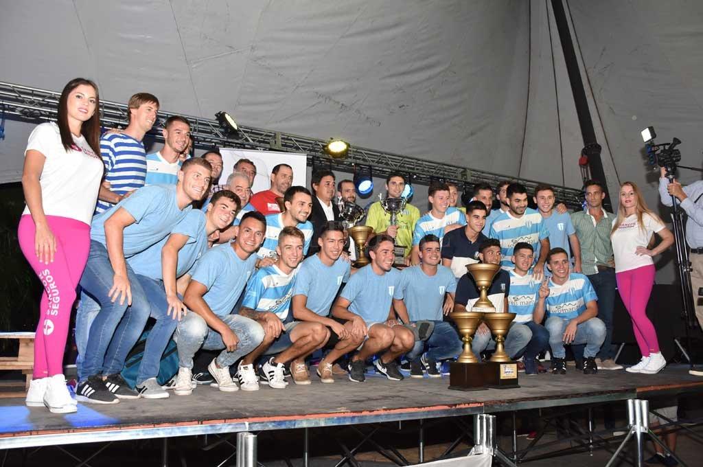 Se realizó la entrega de premios en la Liga Santafesina