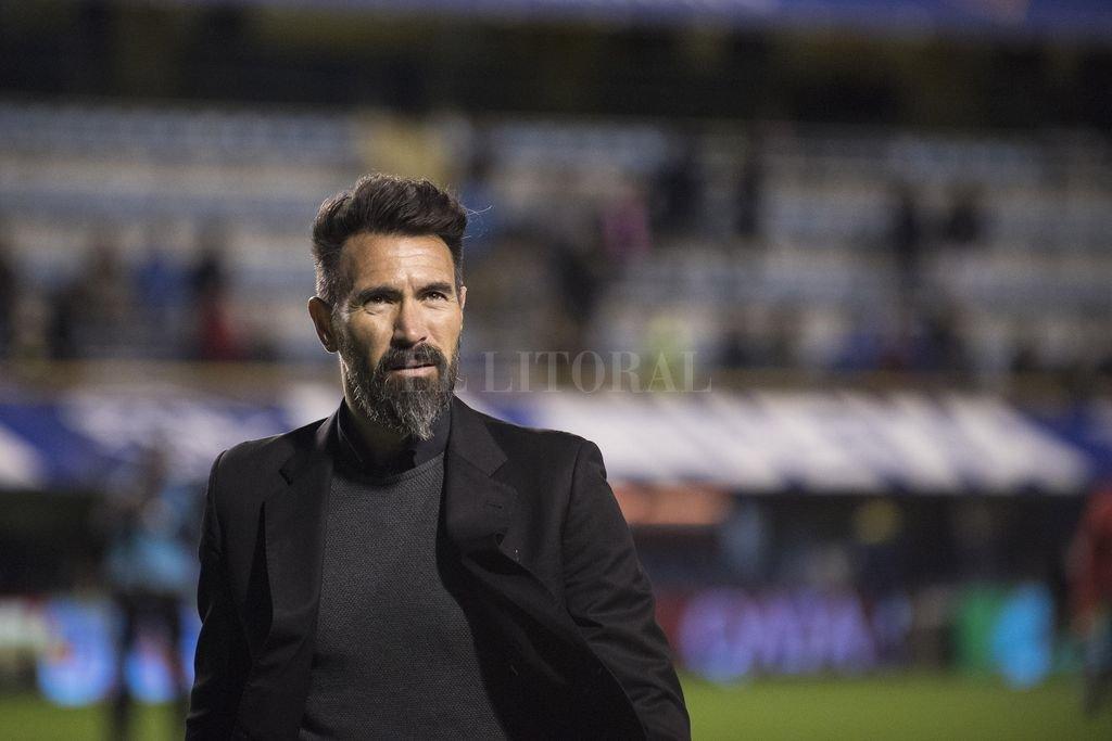 Domínguez en el último partido que jugó Colón en La Bombonera <strong>Foto:</strong> Archivo El Litoral