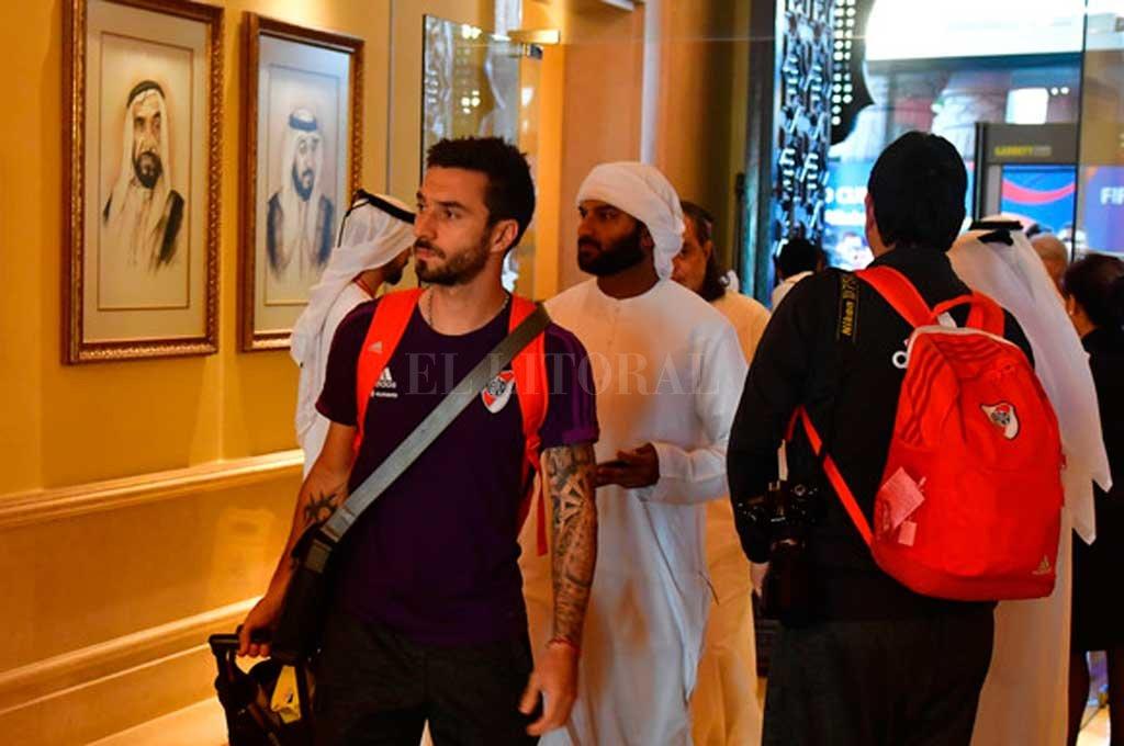River ya está en Abu Dhabi para jugar por el tercer puesto