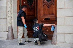 Balearon el frente del Concejo de Rosario