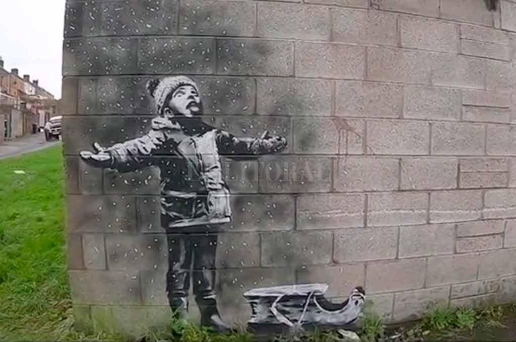 Banksy es el autor del grafiti de Port Talbot