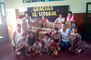 Alumnos de El Sombrerito recibieron donaciones de útiles escolares