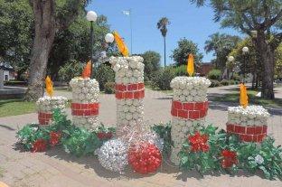La navidad franckina se llena de adornos reciclados
