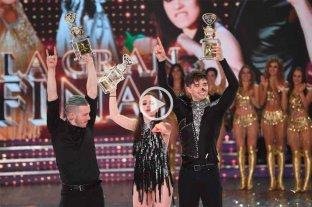Sofi Morandi y Julián Serrano son los ganadores del Bailando 2018