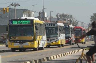 Farías confirmó que Santa Fe se hará cargo de la mitad de los subsidios al transporte
