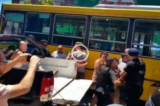 Video: vendían pirotecnia ilegal y se enfrentaron con la policía