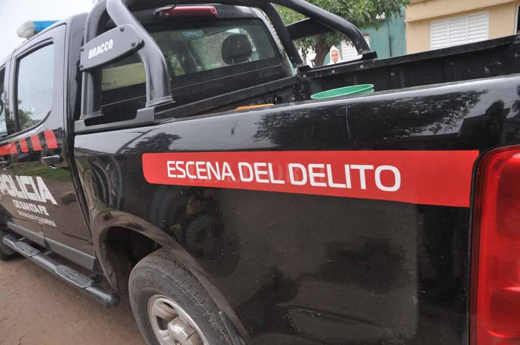 Se investiga lo sucedido en la zona de Estrada al 2700 Crédito: Archivo El Litoral / Flavio Raina