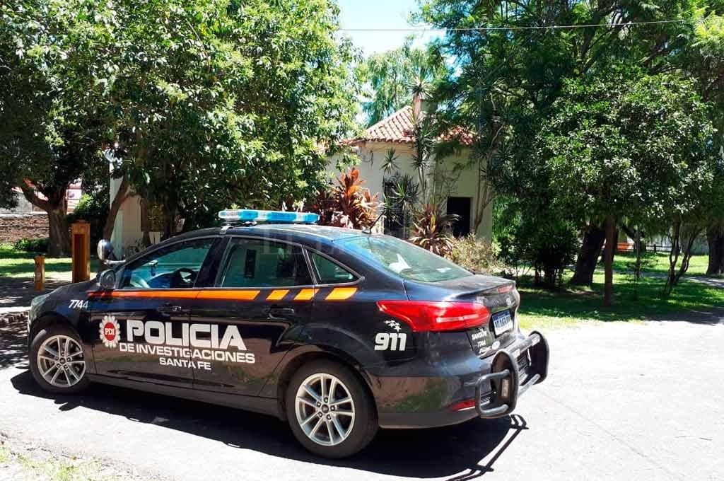 Peritos de la policía trabajaban en el lugar del robo <strong>Foto:</strong> Danilo Chiapello