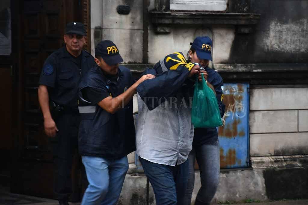 Paz fue indagado el martes 11 de diciembre en el Juzgado Federal N° 2 de Santa Fe, tras su detención en Rosario. Crédito: Manuel Alberto Fabatía