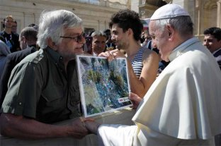 Jorge Hoffmann se encontró con el Papa Francisco