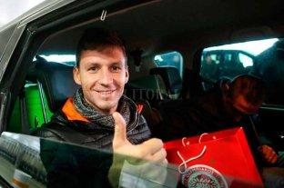 Soldano llegó a Grecia, se realiza exámenes y luego firma el contrato