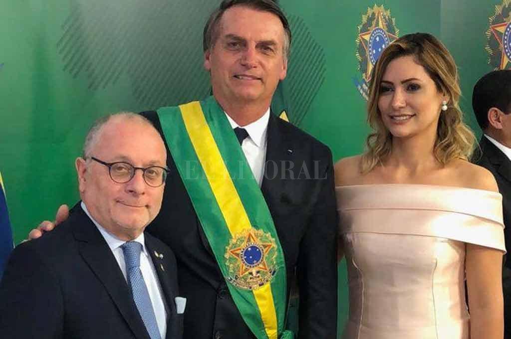 El canciller Jorge Faurie participó de la ceremonia de asunción. <strong>Foto:</strong> Télam