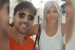 Reapareció Darthés en Brasil con su familia
