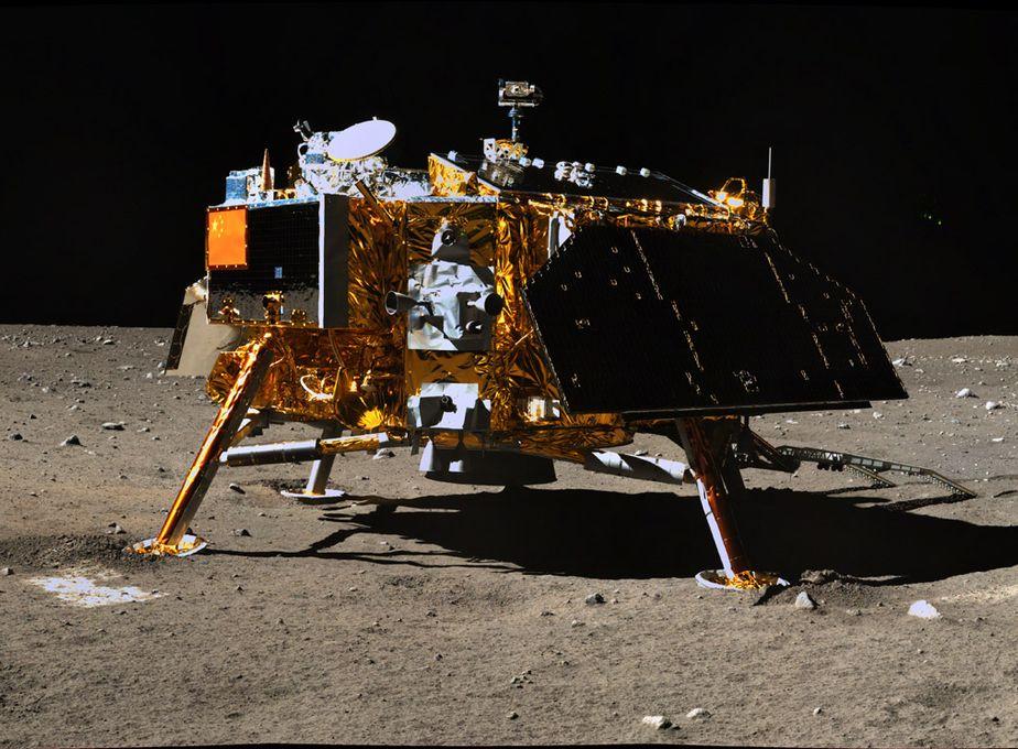 La sonda fue lanzada el 8 de diciembre, y alunizo este miércoles por la noche (hora Argentina). <strong>Foto:</strong> Internet