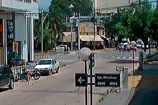 Video: así fue el choque en bulevar en el que falleció un motociclista